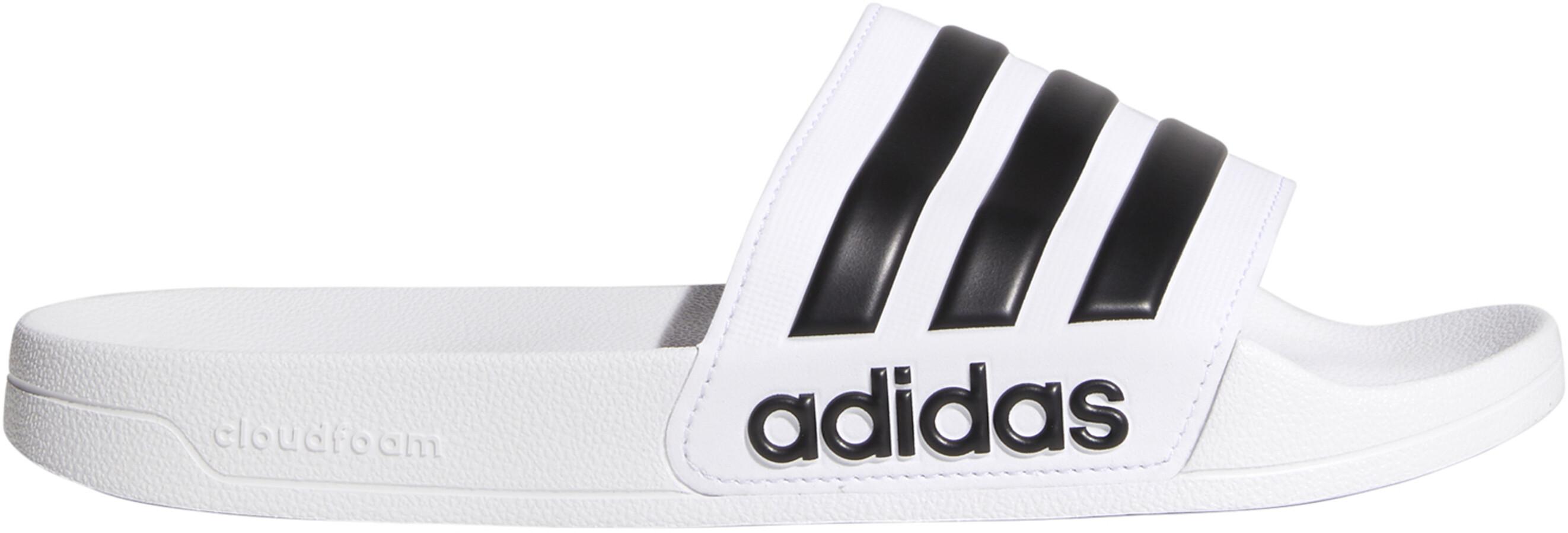 free shipping aec62 a7c5c adidas Adilette Shower Miehet Varvassandaalit , valkoinen
